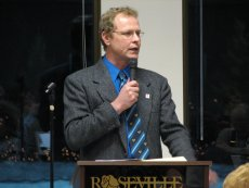 Lonnie Brokke, Roseville Parks & Recreation Director