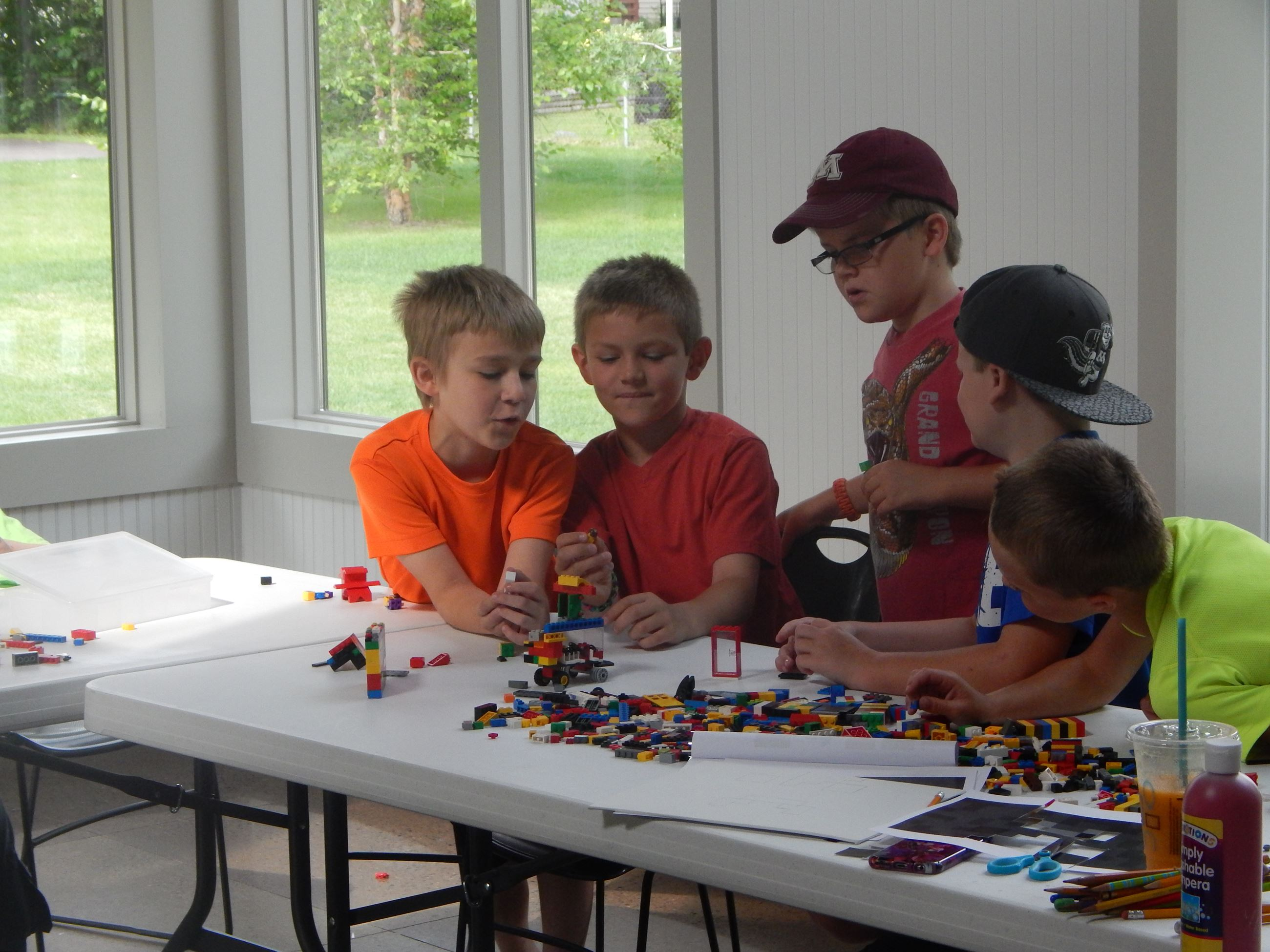 LEGO art camp - boys